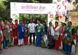 Exhibitors and State Coordinator SRLM, Uttarakhand at Pragati Maidan, New Delhi 2017