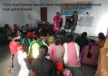 Third days training session three days training gram panchayat majri grant doiwala